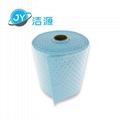 藍色2MM輕量級節省38cm寬90m長大卷實驗室碱性危害品萬用環保吸附棉 3