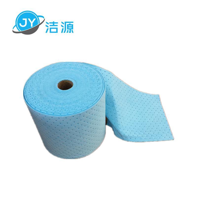 藍色2MM輕量級節省38cm寬90m長大卷實驗室碱性危害品萬用環保吸附棉 4