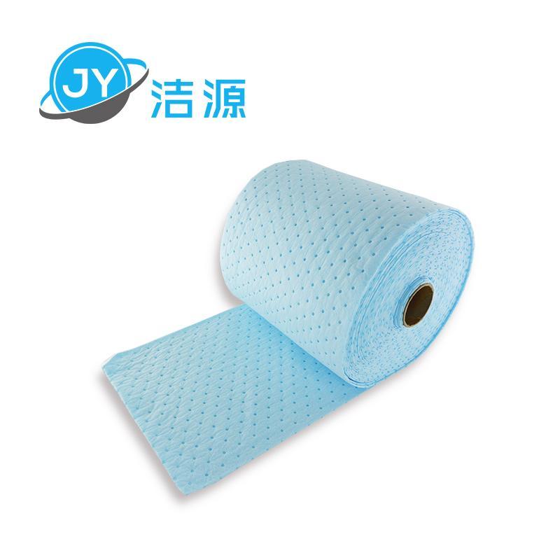 藍色2MM輕量級節省38cm寬90m長大卷實驗室碱性危害品萬用環保吸附棉 5
