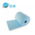 藍色2MM輕量級節省38cm寬45M長實驗台碱性危害品萬用環保吸附卷 3