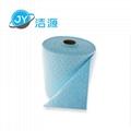 藍色2MM輕量級節省38cm寬45M長實驗台碱性危害品萬用環保吸附卷 4