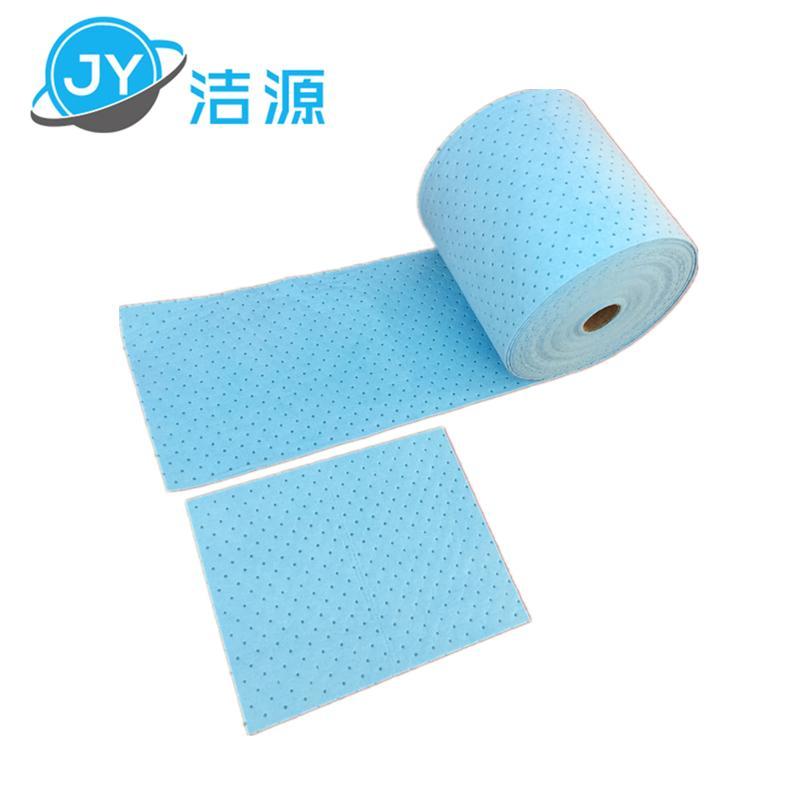 藍色2MM輕量級節省38cm寬45M長實驗台碱性危害品萬用環保吸附卷 5