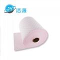 粉色轻量级2MM厚节省38CM宽90M长大卷工作台化学品万用吸附棉 2