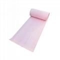 粉色轻量级2MM厚节省38CM宽90M长大卷工作台化学品万用吸附棉 3