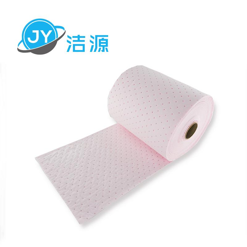 Pink 2MM thick 38CM wide 45M laboratory acid chemicals universal adsorption roll 2