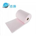 粉色輕量級2MM厚節省38CM寬45M實驗室酸性化學品萬用吸附卷 2
