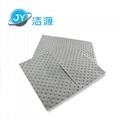 灰色重量級4MM厚油水溶劑全吸節省通用型吸液墊 3