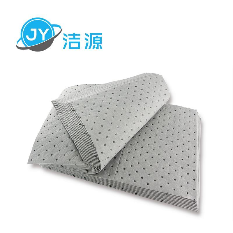 灰色重量級4MM厚油水溶劑全吸節省通用型吸液墊 4