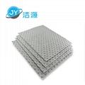 灰色重量級4MM厚油水溶劑全吸節省通用型吸液墊 5