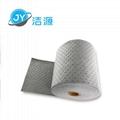 Gray lightweight 2MM thick 90M long roll universal absorbent cotton 2