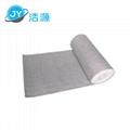 Gray lightweight 2MM thick 90M long roll universal absorbent cotton 3