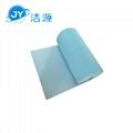 藍色3MM環保吸附毯80cm寬30m長大卷實驗室碱性危害品萬用環保吸附棉 2