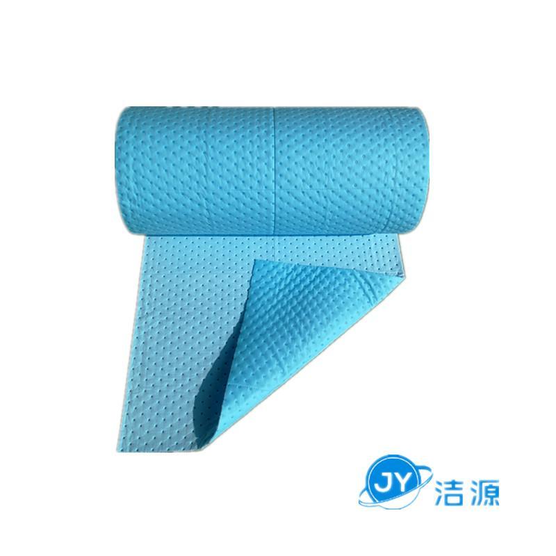藍色3MM環保吸附毯80cm寬30m長大卷實驗室碱性危害品萬用環保吸附棉 3