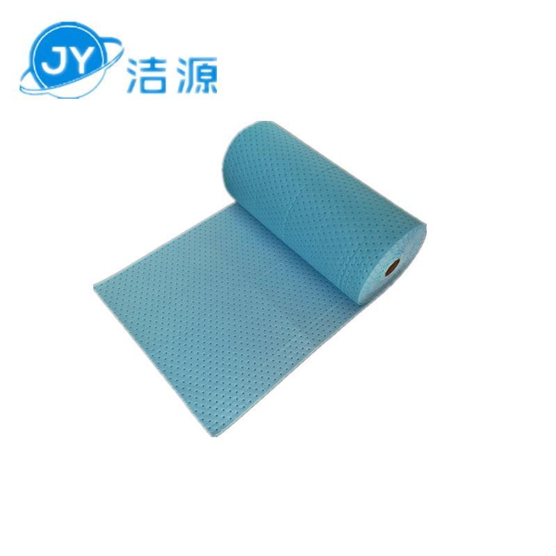 藍色3MM環保吸附毯80cm寬30m長大卷實驗室碱性危害品萬用環保吸附棉 4