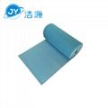 蓝色3MM环保吸附毯80cm宽30m长大卷实验室碱性危害品万用环保吸附棉