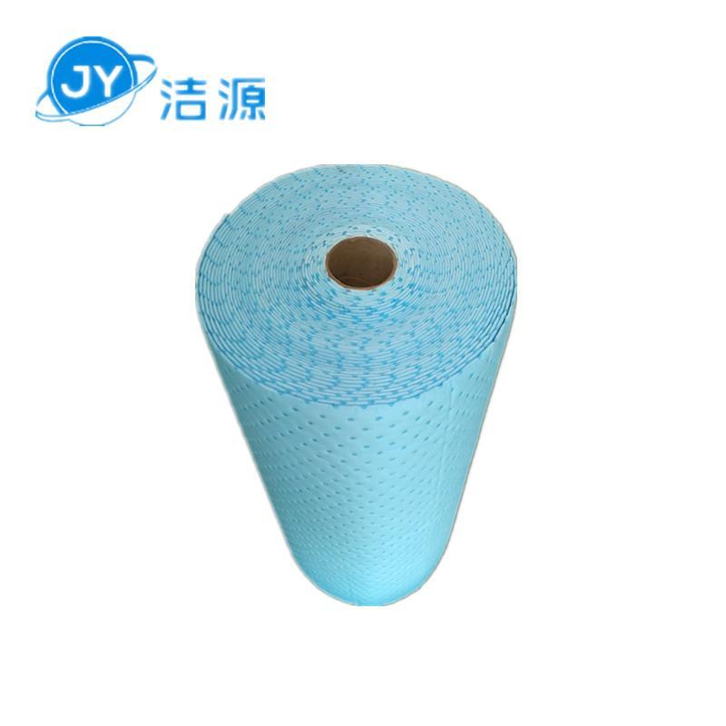 藍色3MM環保吸附毯80cm寬30m長大卷實驗室碱性危害品萬用環保吸附棉 5
