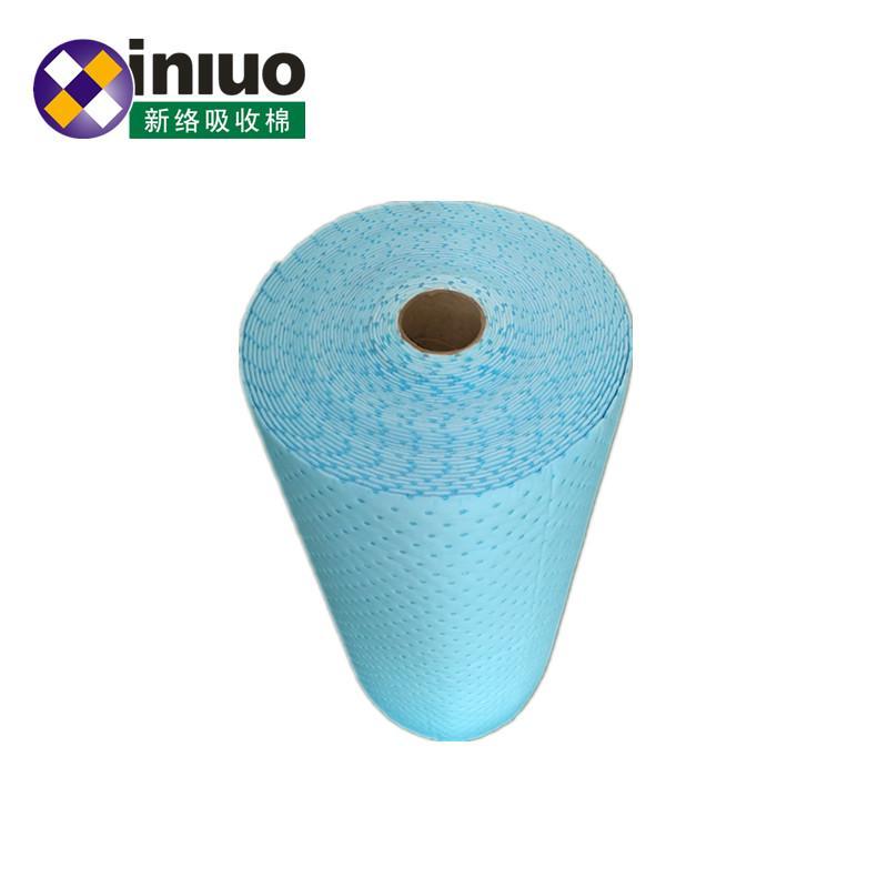 藍色環保耐磨走道吸附毯化工廠實驗室碱性危害液體吸附棉 1