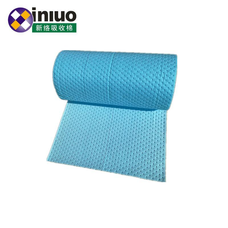 藍色環保耐磨走道吸附毯化工廠實驗室碱性危害液體吸附棉 2