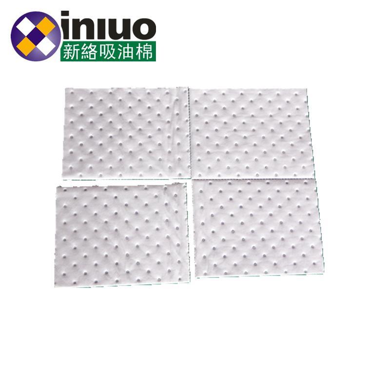 新络PS1301XX中量级节省吸油垫 横竖双撕线吸油片 一分为四多规格吸油棉片 9