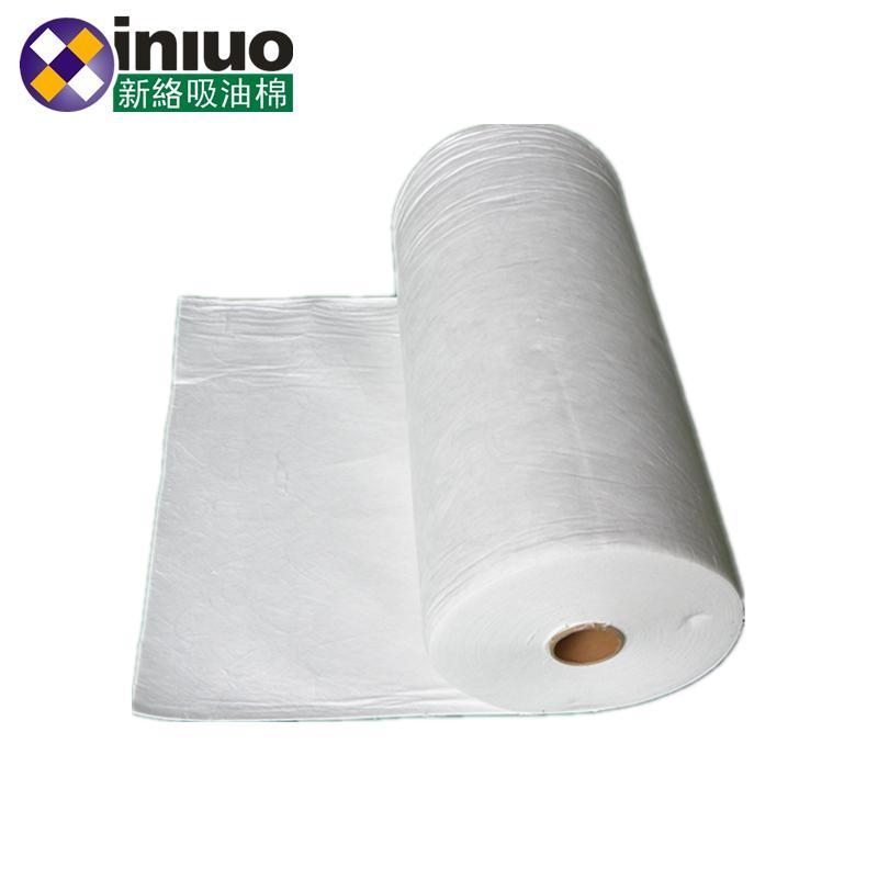 大宽幅水面吸油不吸水应急清洁吸油毯