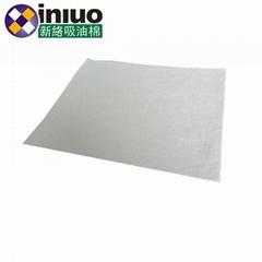 新络1601工业吸油垫6MM厚吸油垫白色不吸水吸油垫