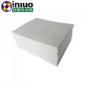 新络10303工业吸油垫6MM厚吸油垫白色不吸水吸油垫 4