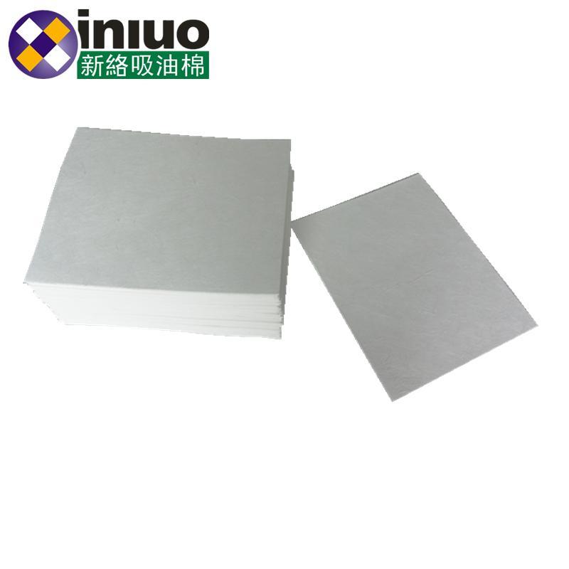 新络10303工业吸油垫6MM厚吸油垫白色不吸水吸油垫 11