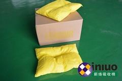 新絡H9435危險化學品吸收枕黃色多功能吸收枕