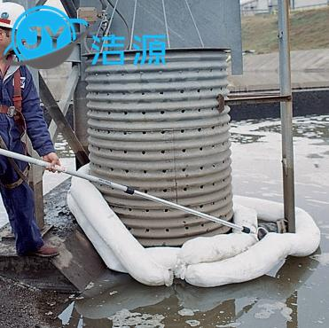 洁源OP13300围油绳不吸水吸油拖栏围油索拦截围油绳 4