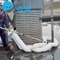 洁源OP13600吸油围油绳不吸水围油索拦截围油绳
