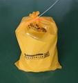 S7649黄色化学品回收袋危害品垃圾袋 3