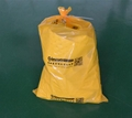 S7649黃色化學品回收袋危害品垃圾袋 1
