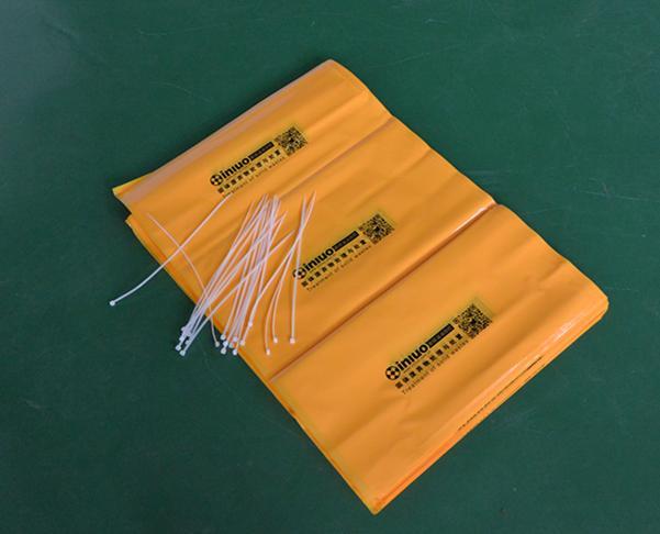 S7649黄色化学品回收袋危害品垃圾袋 4
