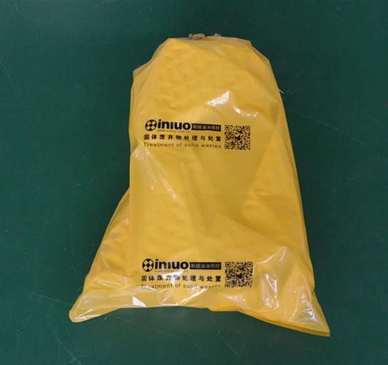 S7649黄色化学品回收袋危害品垃圾袋 6