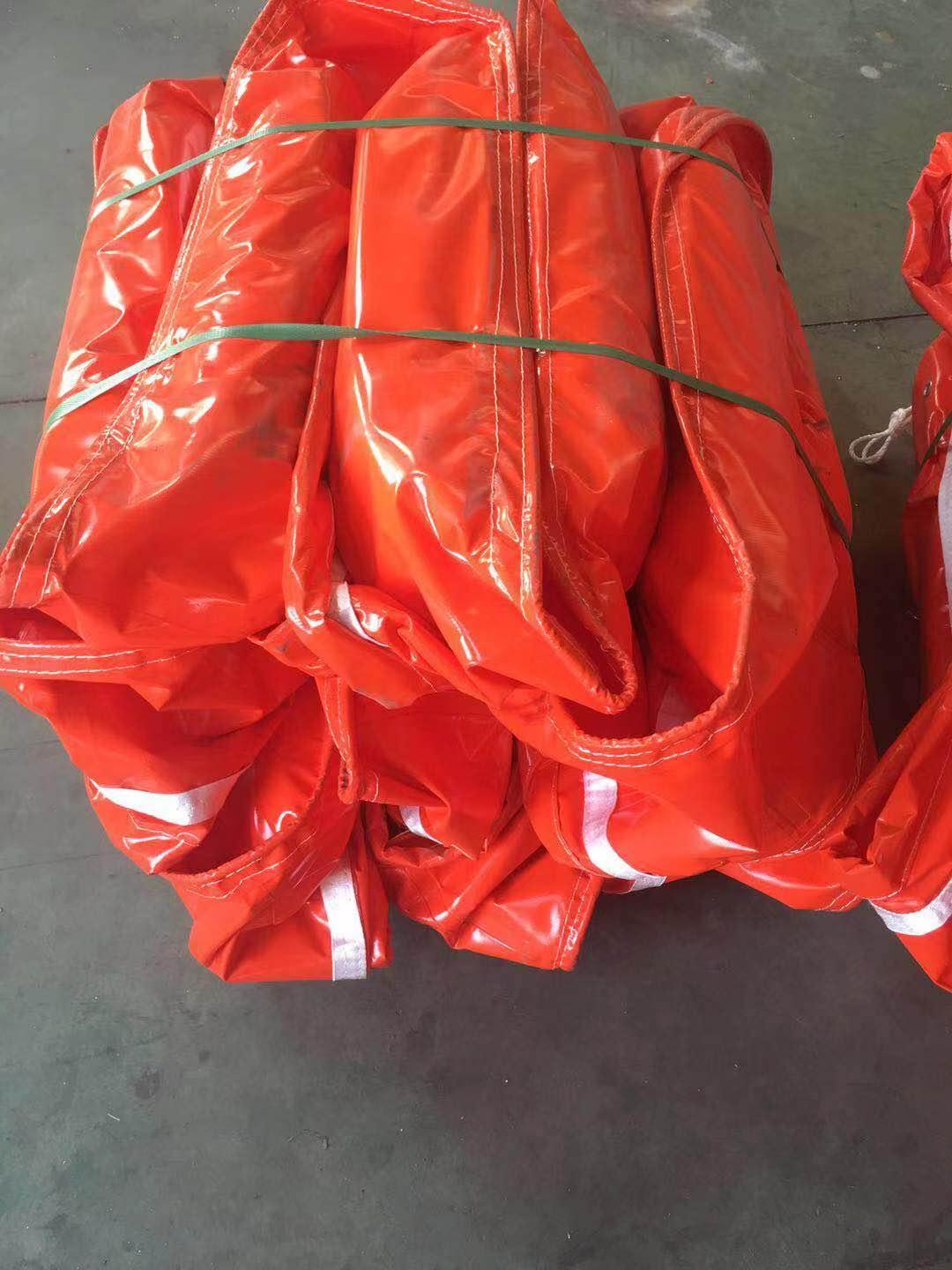 WGV900 solid float type PVC oil boom 3