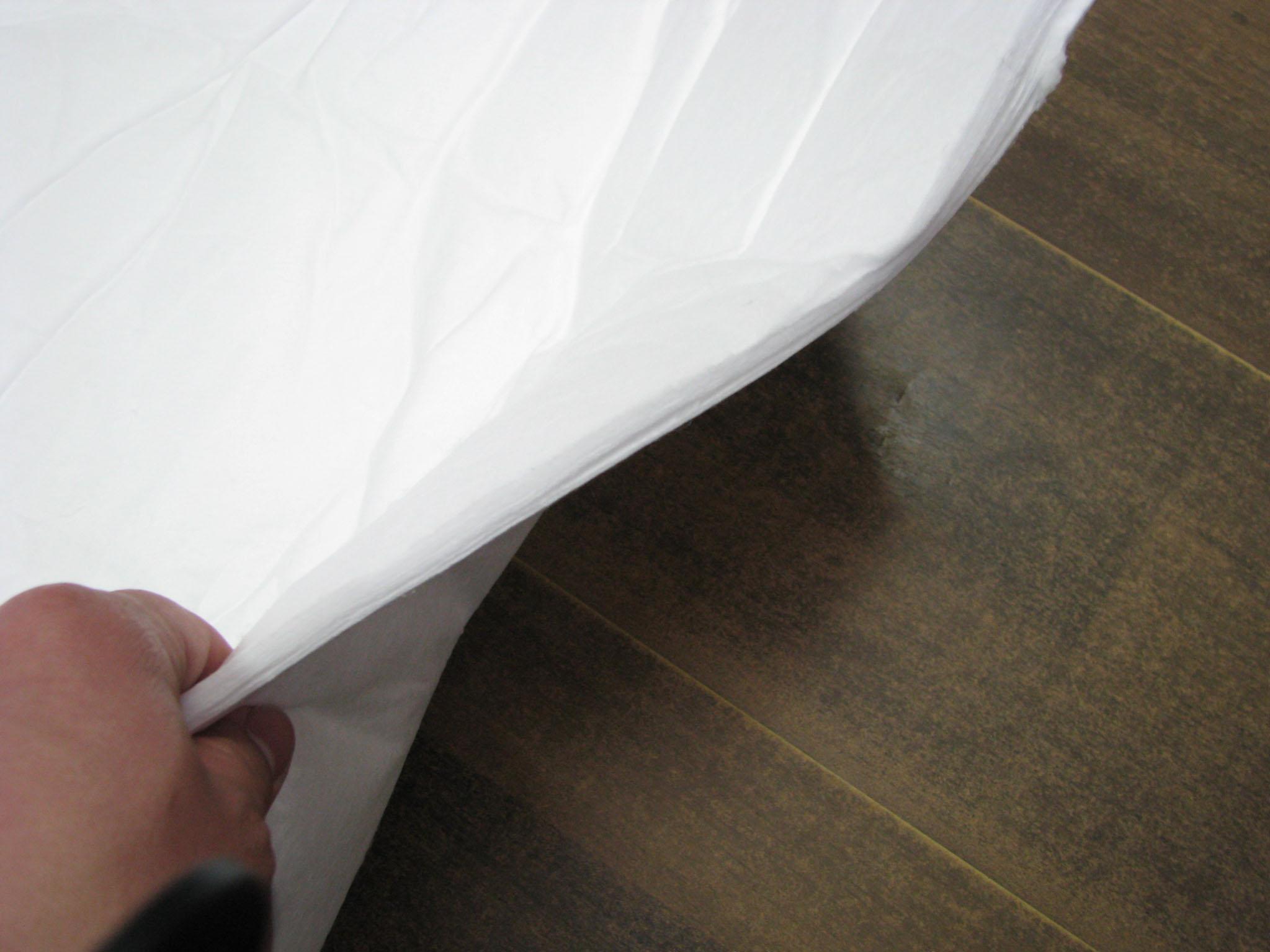 新絡PP-5吸油氈水面油污清潔不吸水吸油氈工業吸油棉 2