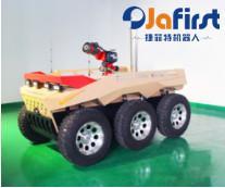 六轮应急救援机器人