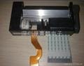 Precision miniature thermal printer core