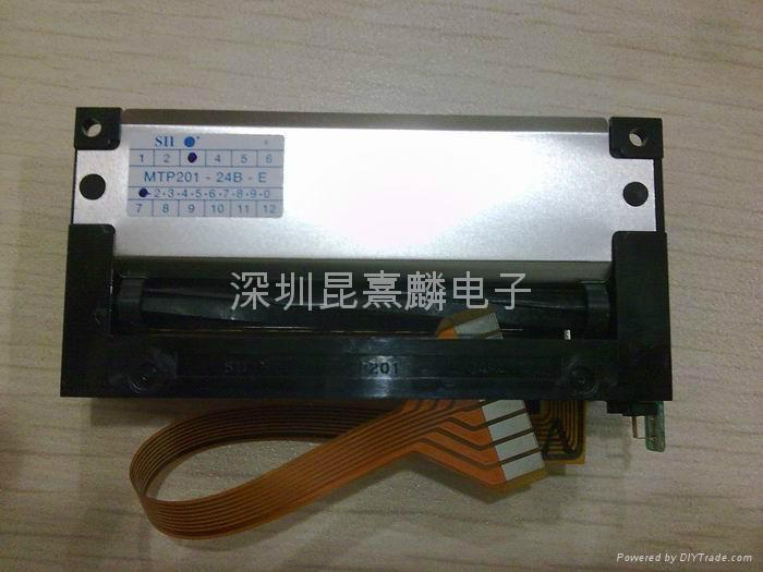 精工SII熱敏打印機芯MTP201-24B-E 2