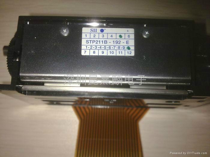 Seiko SII thermal printer core STP211B-192-E 2