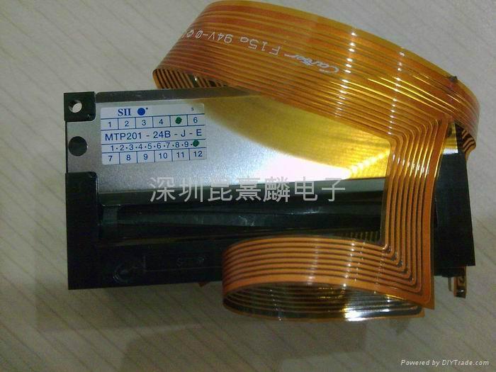 精工SII热敏打印机芯MTP201-24B-J-E 2