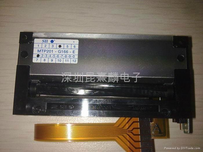 精工熱敏打印機芯MTP201-G166-E 2