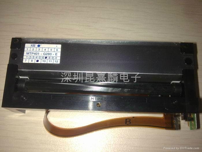 精工SII熱敏打印機芯MTP401-G280-E 2