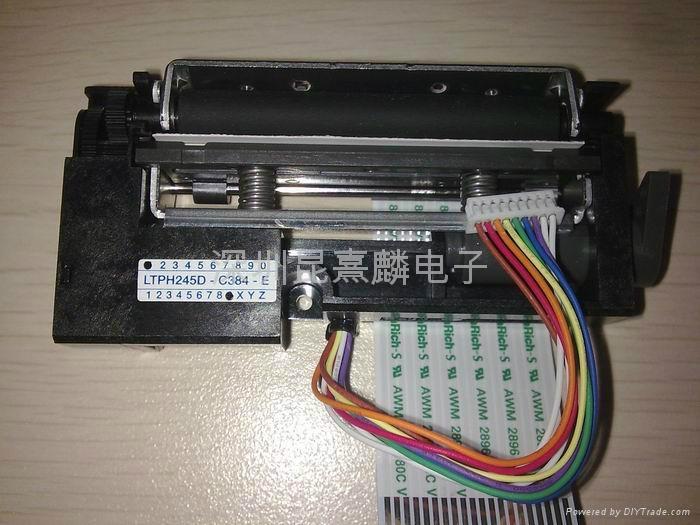 精工SII熱敏打印機芯 LTPH245D-C384-E LTPH245D-C384 LTPH245D LTPH245 1