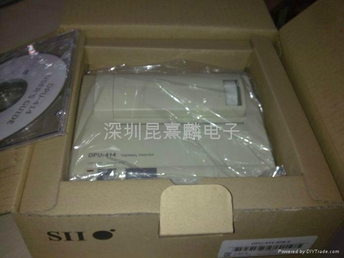 精工SII熱敏打印機DPU-414-30B-E 3