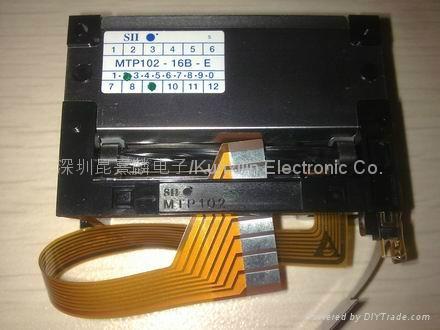 精工熱敏打印機芯MTP102-16B-E 2