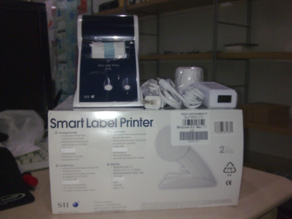 精工熱敏標籤機SLP450 4