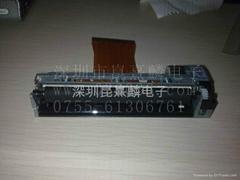 PRT微型熱敏打印頭PT723F-B101通用FTP-638MCL103