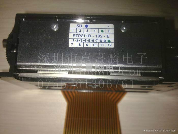 精工熱敏頭STP211B-192-E 2