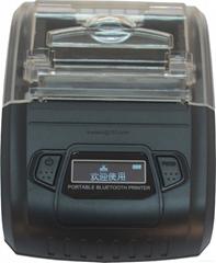 58MM portable liquid crystal display Bluetooth printer label printer